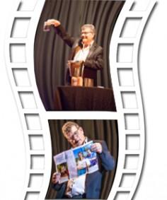 lien vers diaporama et vidéo Benoit Couturier magicien